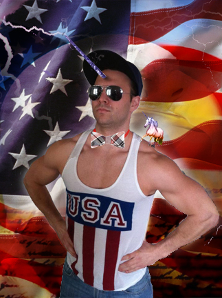 joel woldt, dubstarphoto.com, photography, design, unicorns, USA, Merica, America, flag, bowtie, pimp